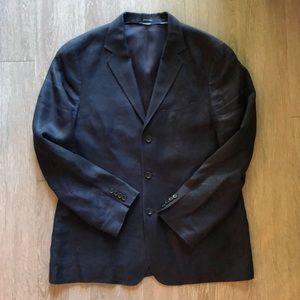Jcrew Navy linen blazer